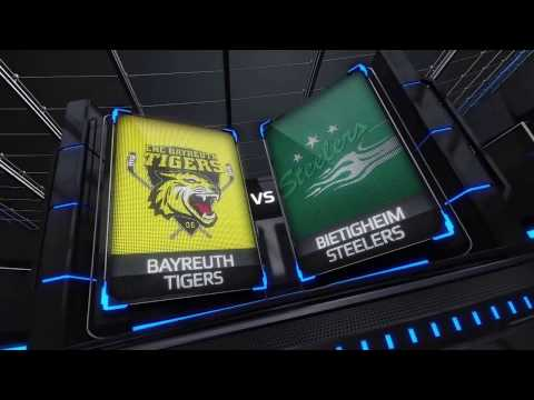 DEL2 Highlights - Playoffs VF Spiel 4 | EHC Bayreuth Tigers vs. Bietigheim Steelers