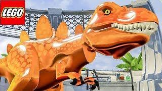 DINOSSAURO DE FOGO - LEGO Jurassic World CRIANDO DINOSSAUROS