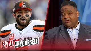 Baker Mayfield's emotions won't carry him for the long haul — Whitlock | NFL | SPEAK FOR YOURSELF