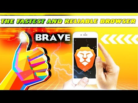 🔴 DOWNLOAD  the FASTEST and  RELIABLE BROWSER - Brave