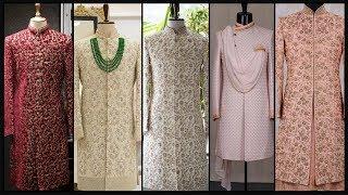 Latest Wedding Sherwani Designs/ Mens Sherwani Collection/Dulha Sherwani/Indian Wedding Dress- FSHC