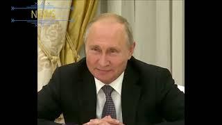 Путин шутит над гербом США