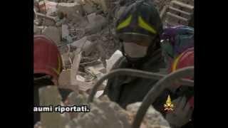preview picture of video 'Vigili del Fuoco primi interventi a L'Aquila'