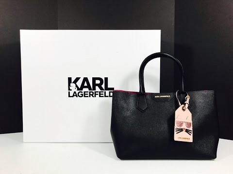 Unboxing my new Karl Lagerfeld Handsbag   Lady Shopper