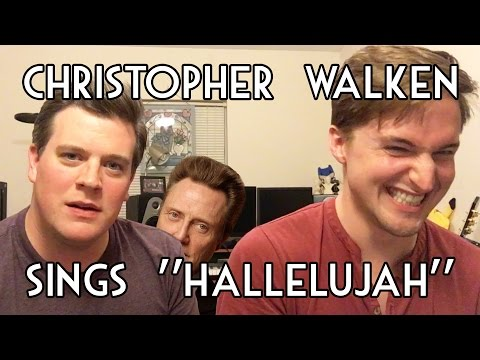 "Christopher Walker sings ""Hallelujah"""