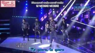 [Subs Español] CHAOS - She is coming (Live 120115)