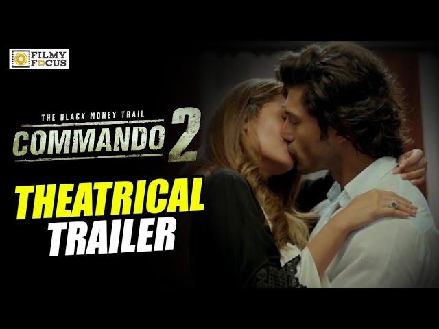 Commando 2 Telugu Theatrical Trailer | Vidyut Jamwal, Adah Sharma
