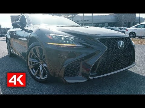 2018 LEXUS LS 500 F SPORT AWD – IN DEPTH 4K WALKAROUND STARTUP EXTERIOR LUXURY INTERIOR & TECH