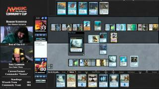 2015 Magic Community Cup Round 8 (Ironroot Chef Main Course: Commander)