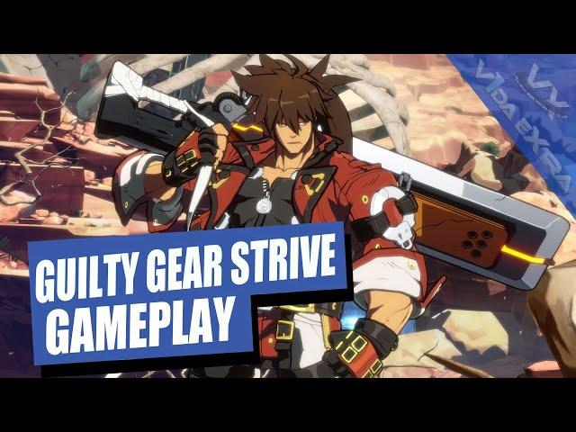 Guilty Gear -Strive-: 25 minutos de gameplay en PS5