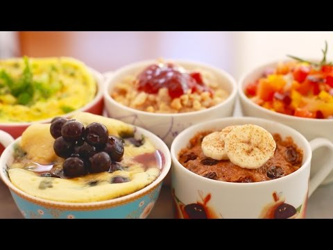Video Microwave Mug Breakfasts for Back to School: 5 Sweet & Savory Recipes - Gemma's Bigger Bolder Baking