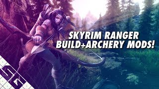 Skyrim ARCHER Build + MODS! PS4! Xbox One!