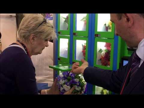 Торговый автомат для продажи цветов, сувениров и подарков. ELEMENT. Цветомат. Флоромат