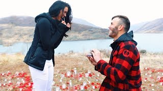 THE MOST EPIC PROPOSAL EVER!!! (WORLD'S LONGEST ZIPLINE)