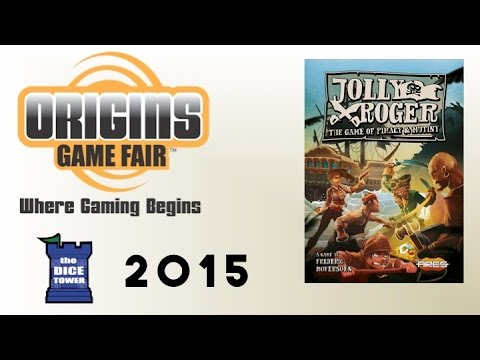 Origins Summer Preview: Jolly Roger: The Game of Piracy & Mutiny