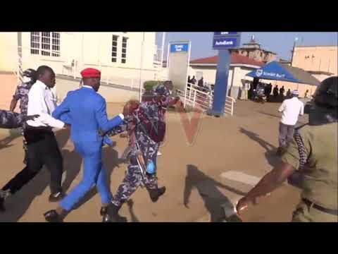 Police disperses NUP supporters in Mbale town