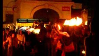 fire show Znojmo-Lucie OHEN