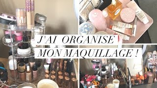 Youtube: Je me lance! - Comment J'organise Mon Maquillage