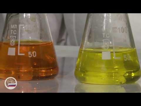 Равновесие в системе хромат-бихромат - демонстрация в инженерно физическим институте