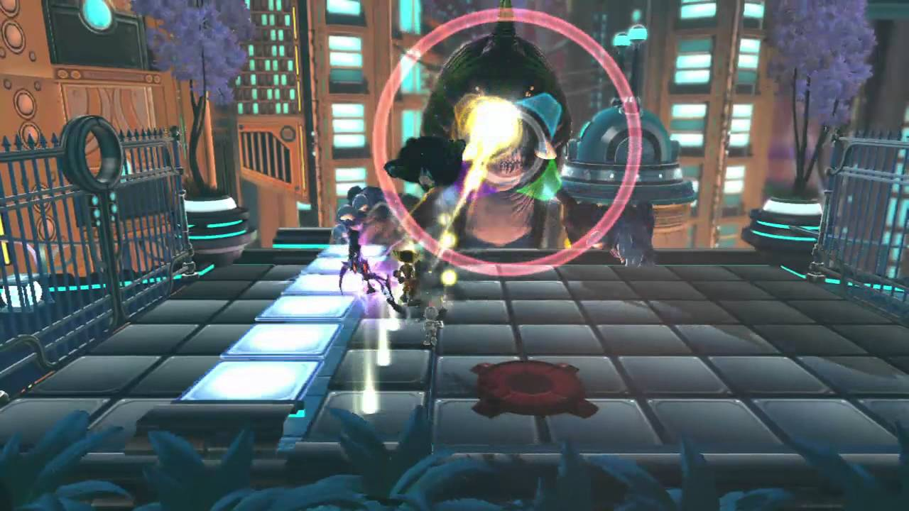 Can Four Ratchet & Clank Heroes Triumph Over The Massive Light-Eating Z'Grute?