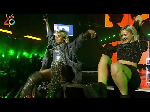 Bebe Rexha & David Guetta - Say My Name/Hey Mama (LOS40 Music Awards 2018)