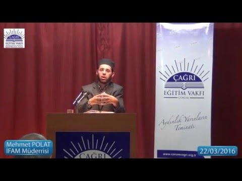 Riyazü's Salihin Dersleri - Mehmet Polat - 22 03 2016