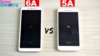 Redmi 6A vs Redmi 5A Speed Test and Camera Comparison