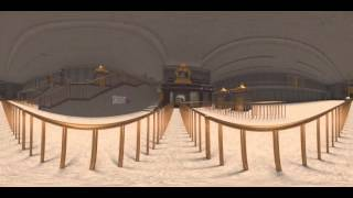 Temple Visualisation VR  360° video for Yadadri