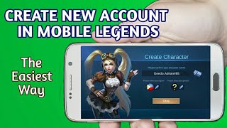 How To Create New Account in Mobile Legends (2020)