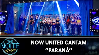 Now United Cantam Paraná    The Noite (011119)