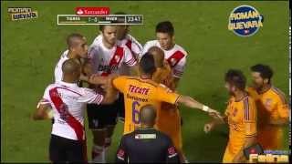 Tigres Vs River Plate 2-2 Jornada 5 Copa Bridgstone Libertadores 2015 HD - RESUMEN GOLES