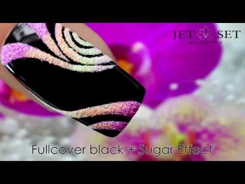 Fullcover black + Sugar Effect - JET SET BEAUTY *Werbe- Teaser*