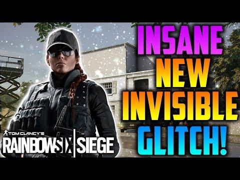 rainbow six invisible glitch