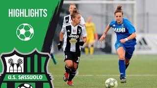 Serie A Femminile: Juventus-Sassuolo 4-0 Highlights