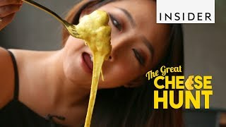 Cream Cheese Bread Bowl, South Korea | The Great Cheese Hunt Ep 2