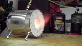 How to make a coffee can forge - Video Youtube