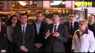 preview picture of video 'Pascal Thévenot annonce sa candidature, le 24 mai 2013'