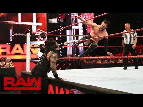 Roman Reigns vs. Finn Bálor: Raw, July 25, 2016