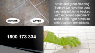 Local Tile and Grout Cleaning Sydney