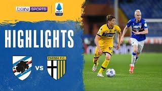 Sampdoria 3-0 Parma Pekan 38