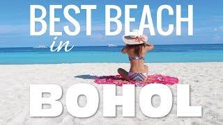 BEST BEACH in PANGLAO Bohol Philippines