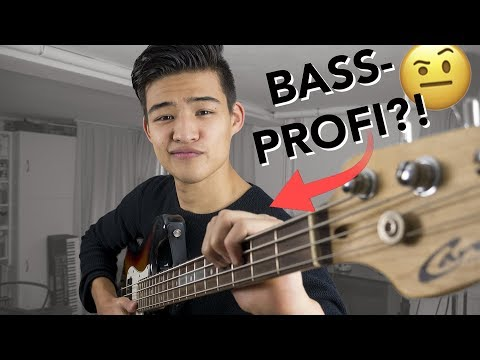 Wie schnell kann man eigentlich Bass lernen?   Instrumenten-Challenge