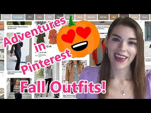 Adventures In Pinterest: Fall Outfits!