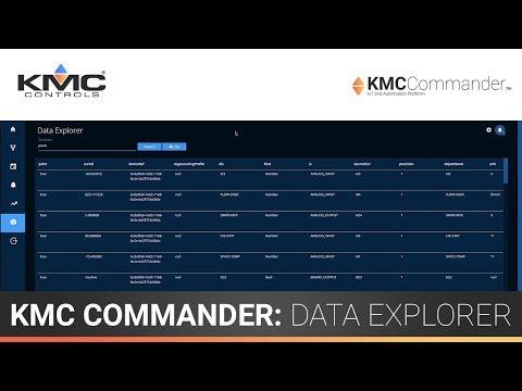 KMC Commander: Data Explorer