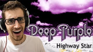 "Hip-Hop Head's FIRST TIME Hearing DEEP PURPLE: ""Highway Star"" REACTION"