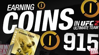 EA SPORTS UFC 2 - ULTIMATE TEAM - How to Earn MORE Coins in Ultimate Team