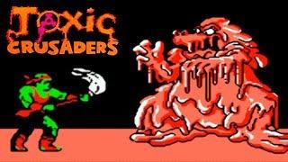 Toxic Crusaders (Токсичные Крестоносцы) прохождение (NES, Famicom, Dendy)