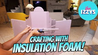 Making Castles out of Cardboard and FOAM?!