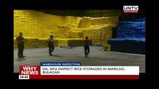 DA, NFA launch crackdown vs. rice hoarders; raid warehouses in Bulacan
