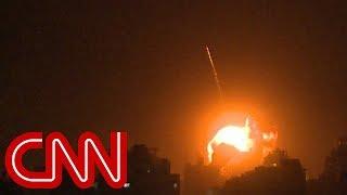 Israel strikes Hamas as Netanyahu finishes visit with Trump